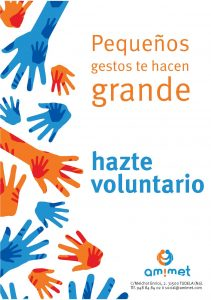 Cartel voluntariado